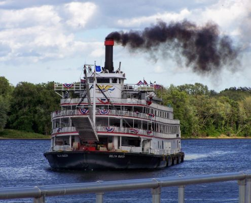 Delta Queen Overnight Steamboat Smokestack