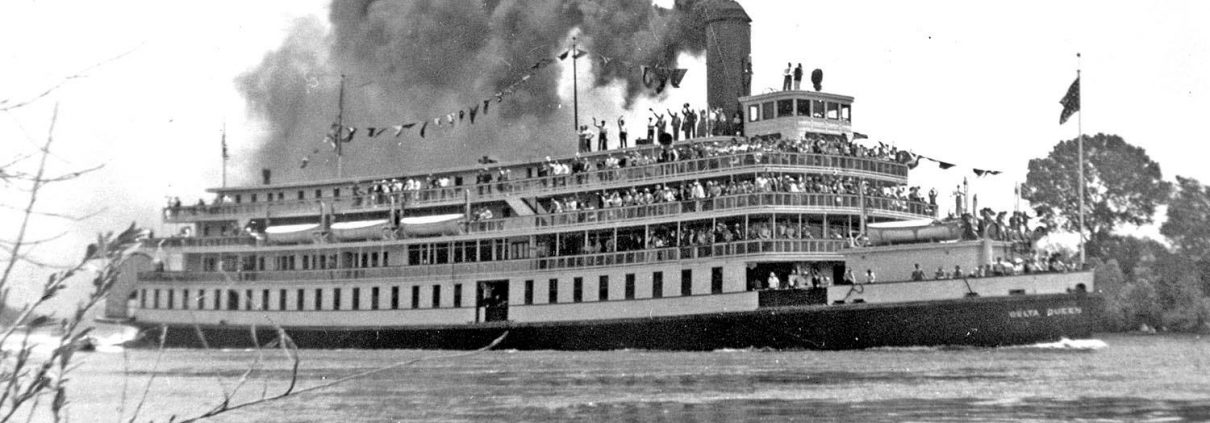 Historic Delta Queen Overnight Steamboat